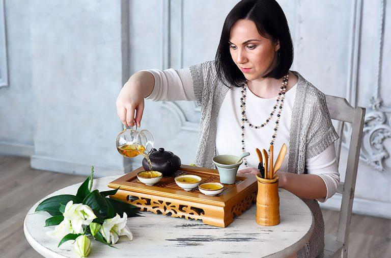 Александра Наумова чайная церемония