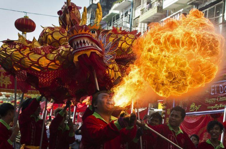 новогодние традиции в китае