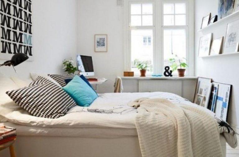 кровать в спальне по фен-шуй